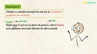 Pronumele și adjectivul pronominal relativ. Exerciții