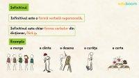 Forme verbale nonfinite. Infinitivul şi participiul