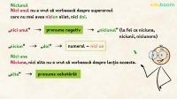 Pronumele și adjectivul pronominal negativ. Exerciții
